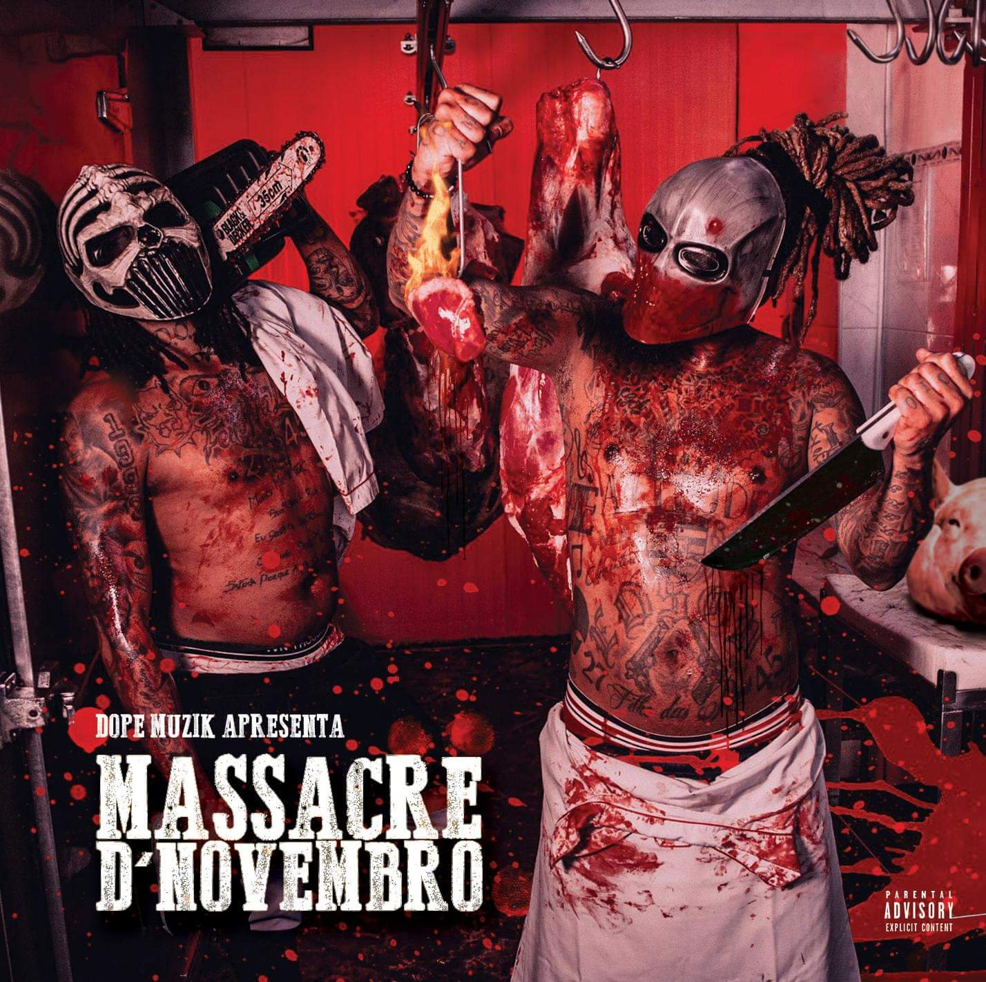 NGA X Monsta - Massacre D'Novembro (Mixtape)