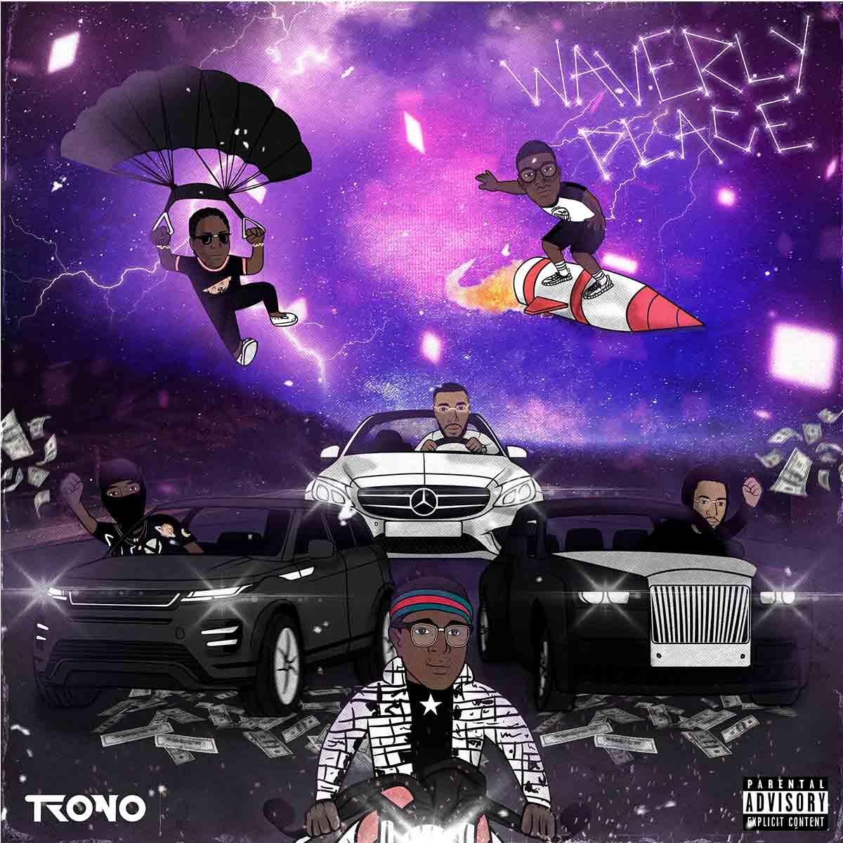 Trono (Micha Star, Bbrocket, MimoFukk) - Funaná (feat. Kelson Most Wanted)