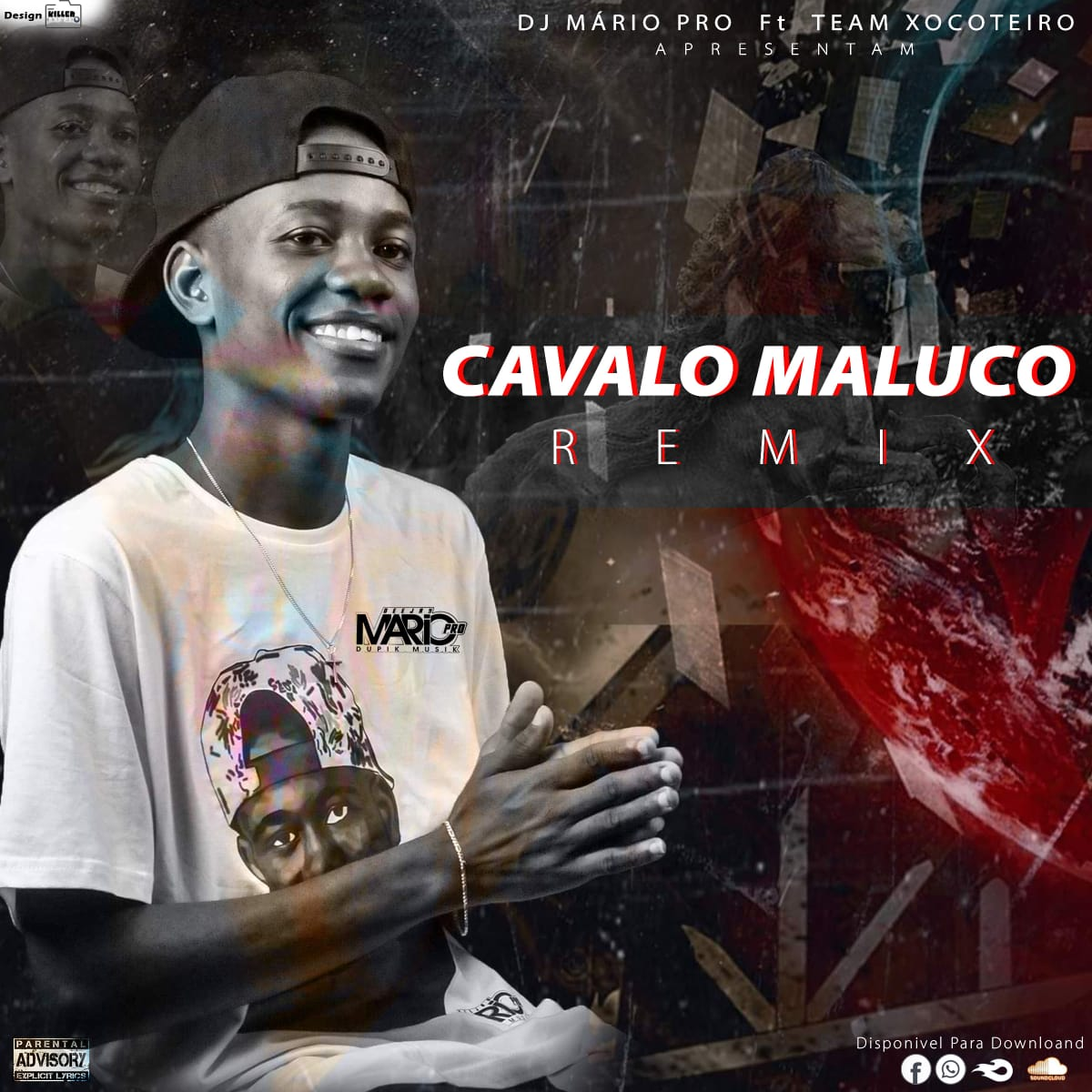 Dj Mário Pro - Cavalo Maluco (Remix) (feat. Team Xocoteiro)