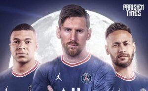PSG com Messi