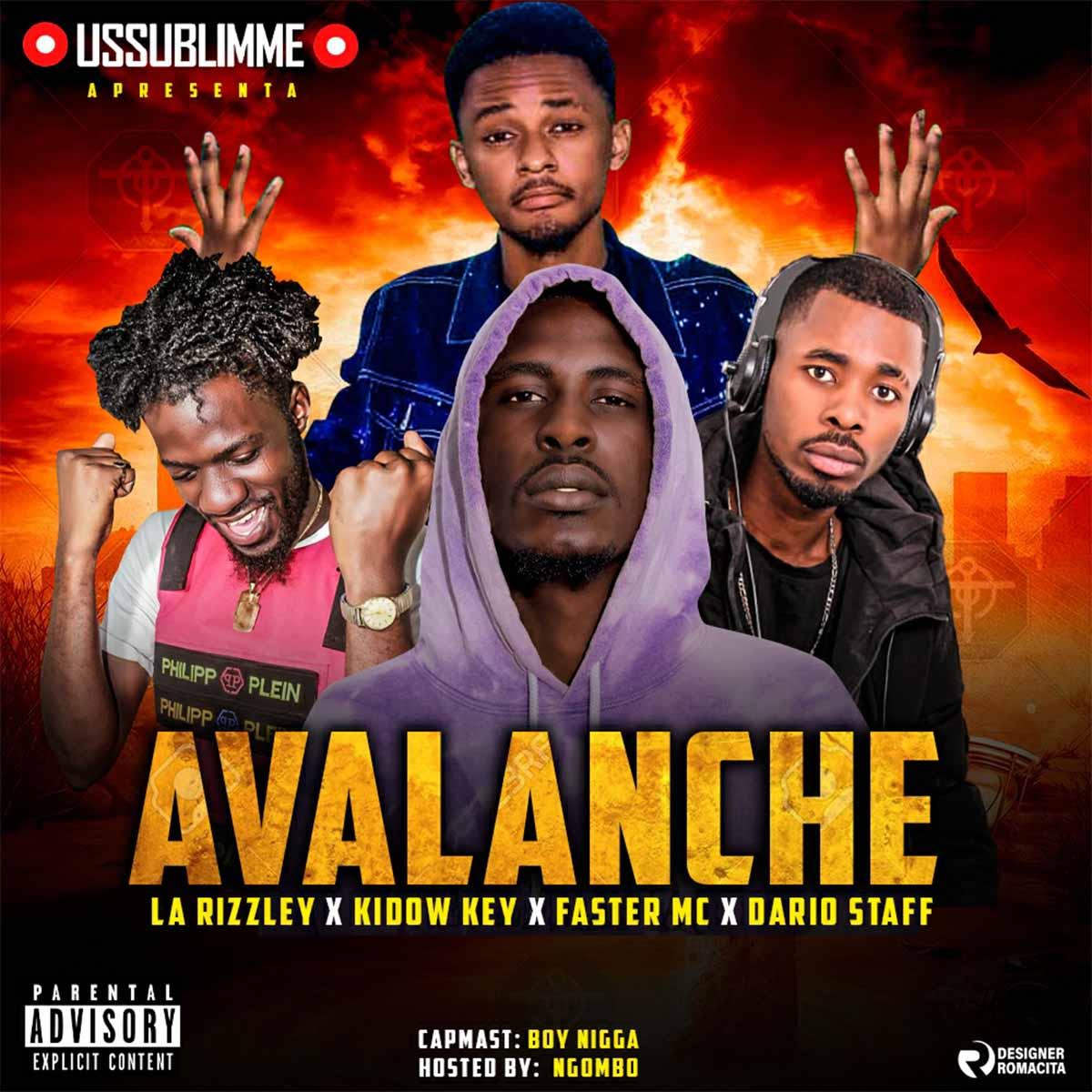 USSUBLIMME - Avalanche (Feat. LA Rizzley, Kidow Key, Faster MC & Dario Staff)